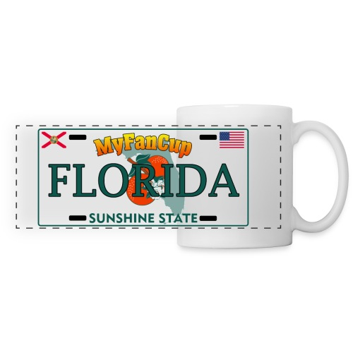 Florida Fan Cup - Licence Plate Edition Clear - Panoramatasse