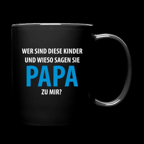 papa - Tasse einfarbig