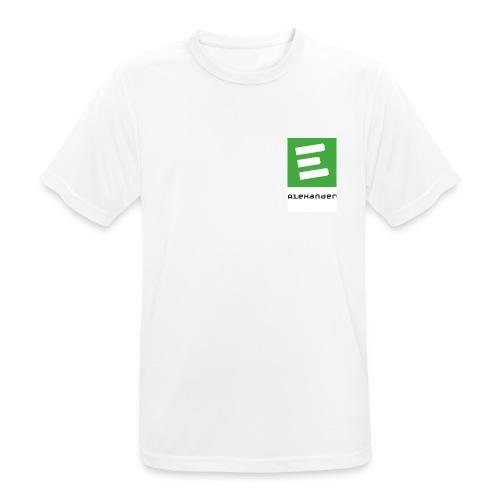 TShirt Alex - Männer T-Shirt atmungsaktiv