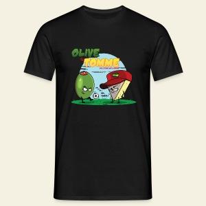 Olive et Tomme les Stars de l'apéro - T-shirt Homme