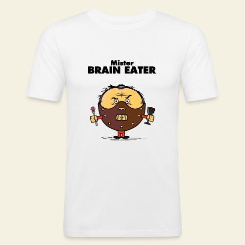 Mister Brain Eater - T-shirt près du corps Homme