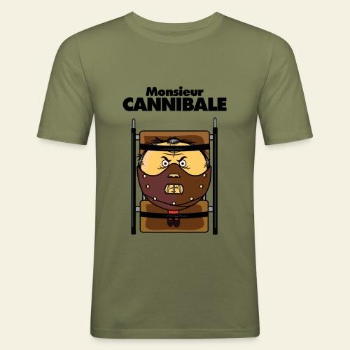 Monsieur Cannibale - T-shirt près du corps Homme