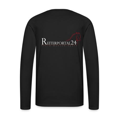 Reiterportal24 Männer Langarmshirt - Männer Premium Langarmshirt