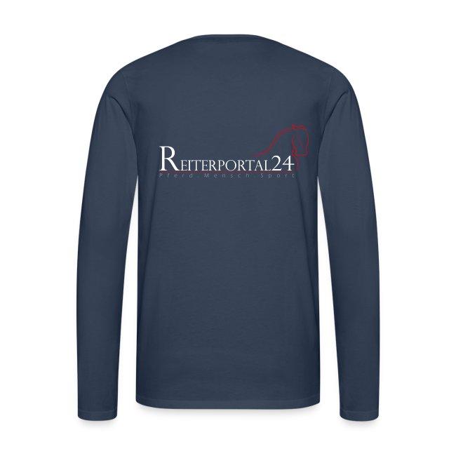 Reiterportal24 Männer Langarmshirt navy