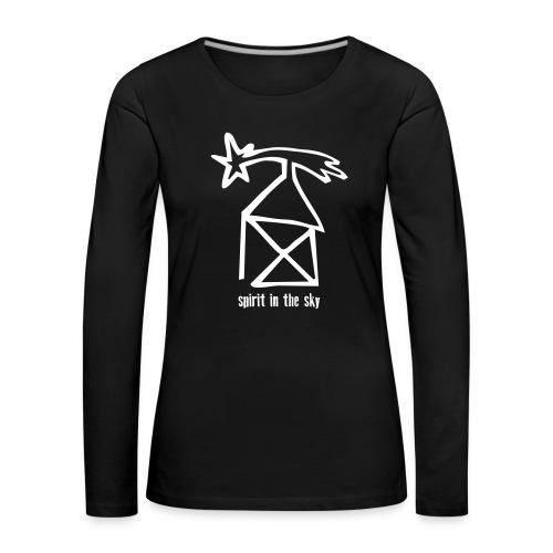nikolaushaus - spirit in the sky - Frauen Premium Langarmshirt