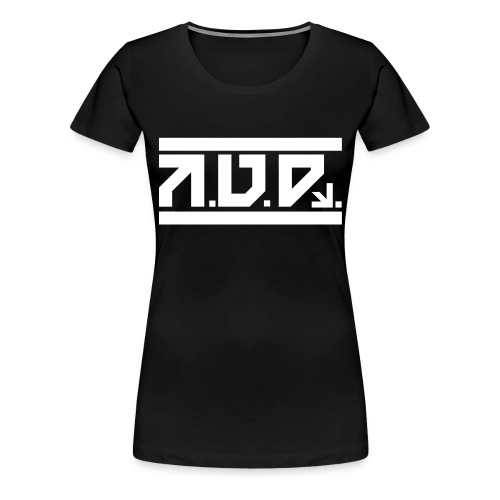 AUD Female Shirt 2016 BLK - Frauen Premium T-Shirt