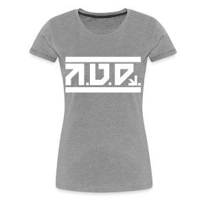 AUD Female Shirt 2016 GREY - Frauen Premium T-Shirt