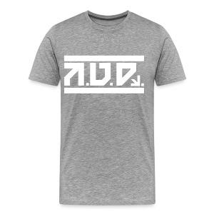 AUD Male Shirt 2016 GREY - Männer Premium T-Shirt