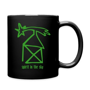 nikolaushaus - spirit in the sky - Tasse einfarbig