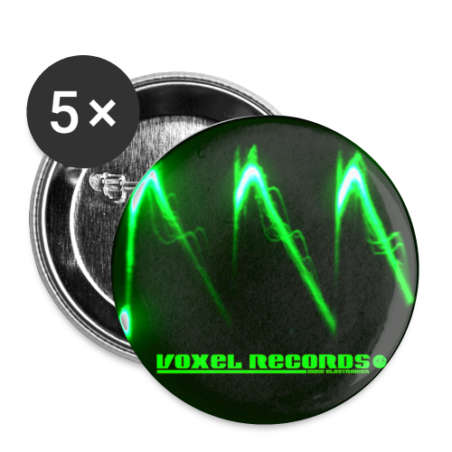 Voxel Records Bad Wave Button - Buttons small 25 mm