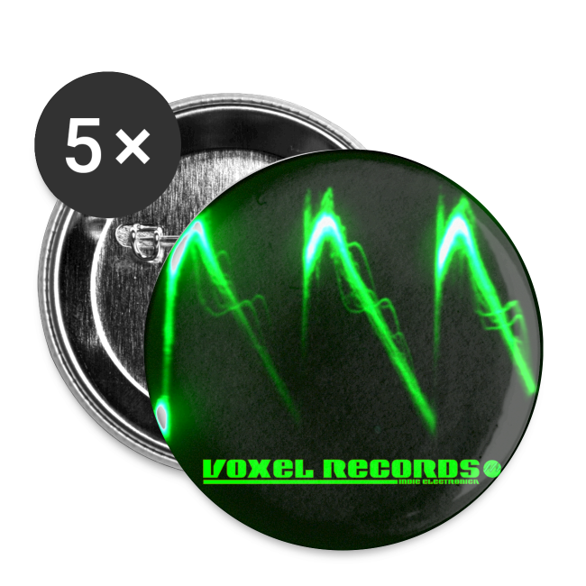 Voxel Records Bad Wave Button