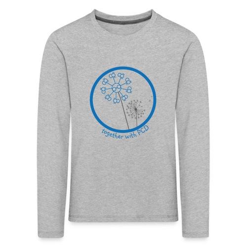 Langarm Kinder Pusteblume - Kinder Premium Langarmshirt
