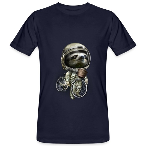 With my bicycle men - Men's Organic T-Shirt