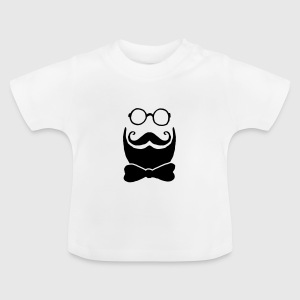 Hipster briller og Butterfly Baby T-shirts - Baby T-shirt