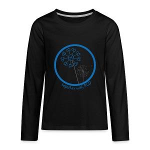 Teenager Langarm Pusteblume - Teenager Premium Langarmshirt