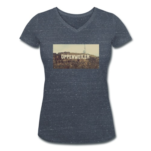 WeLoveOppes | OPPES GOES HOLLYWOOD | Frauen Shirt V-Ausschnitt - Frauen Bio-T-Shirt mit V-Ausschnitt von Stanley & Stella