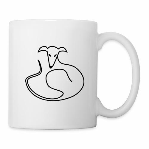 Elegant liegend - Tasse