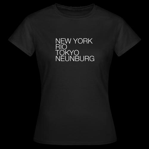 Neunburg #1 - Shirt Ladies - Frauen T-Shirt