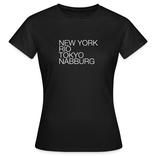 Nabburg #1 - Shirt Ladies - Frauen T-Shirt