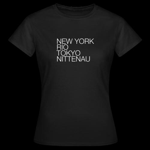 Nittenau #1 - Shirt Ladies - Frauen T-Shirt