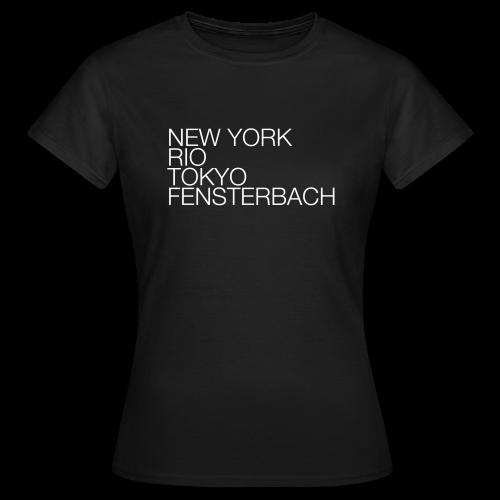 Fensterbach #1 - Shirt Ladies - Frauen T-Shirt