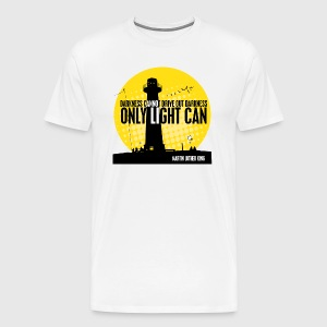 LIGHT - MARTIN LUTHER KING - Herre premium T-shirt