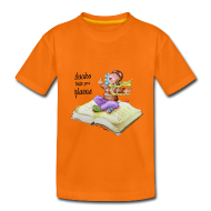 Camisetas ~ Camiseta premium niño ~ books take you places