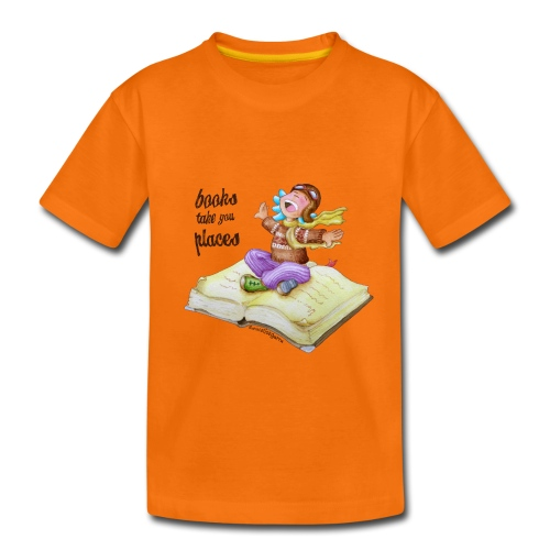 books take you places - Camiseta premium niño