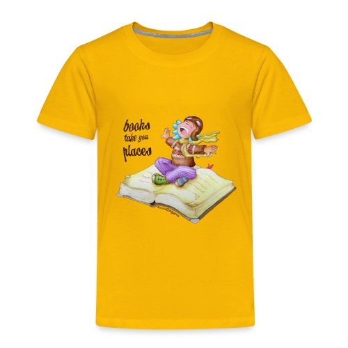 books take you places - Camiseta premium niño