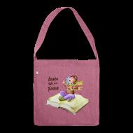 Bolsas y mochilas ~ Bandolera de material reciclado ~ books take you places