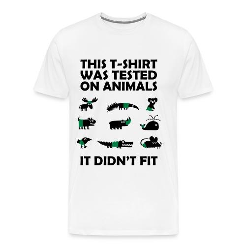 IT DIDN´t FIT - Männer Premium T-Shirt