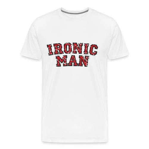 IRONIC MAN - Männer Premium T-Shirt