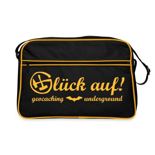 Glück auf! Geocaching Underground - Retro Tasche