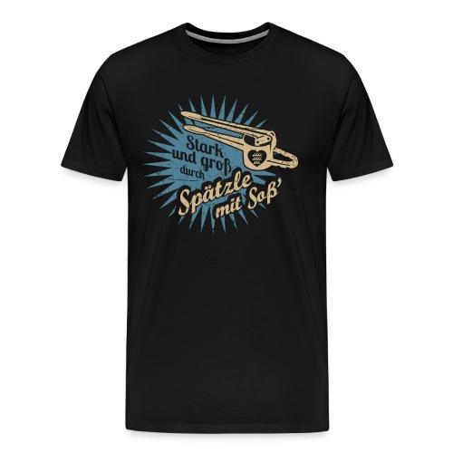 Spätzle - Männer Premium T-Shirt