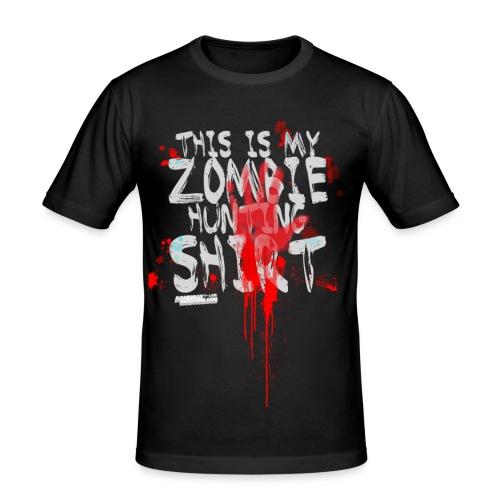 READY FOR ZOMBIES - Men's Slim Fit T-Shirt