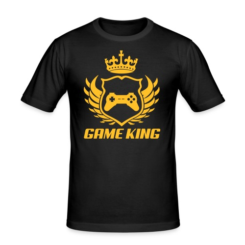 GAMER KING - Men's Slim Fit T-Shirt