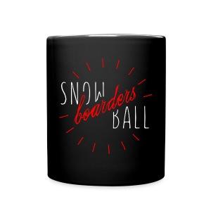snowBALL VIIII #blackcup - Tasse einfarbig