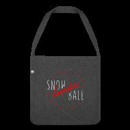 Taschen & Rucksäcke ~ Schultertasche aus Recycling-Material ~ snowBALL VIIII #bag