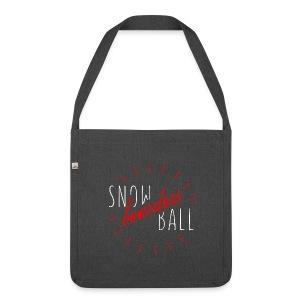 snowBALL VIIII #bag - Schultertasche aus Recycling-Material