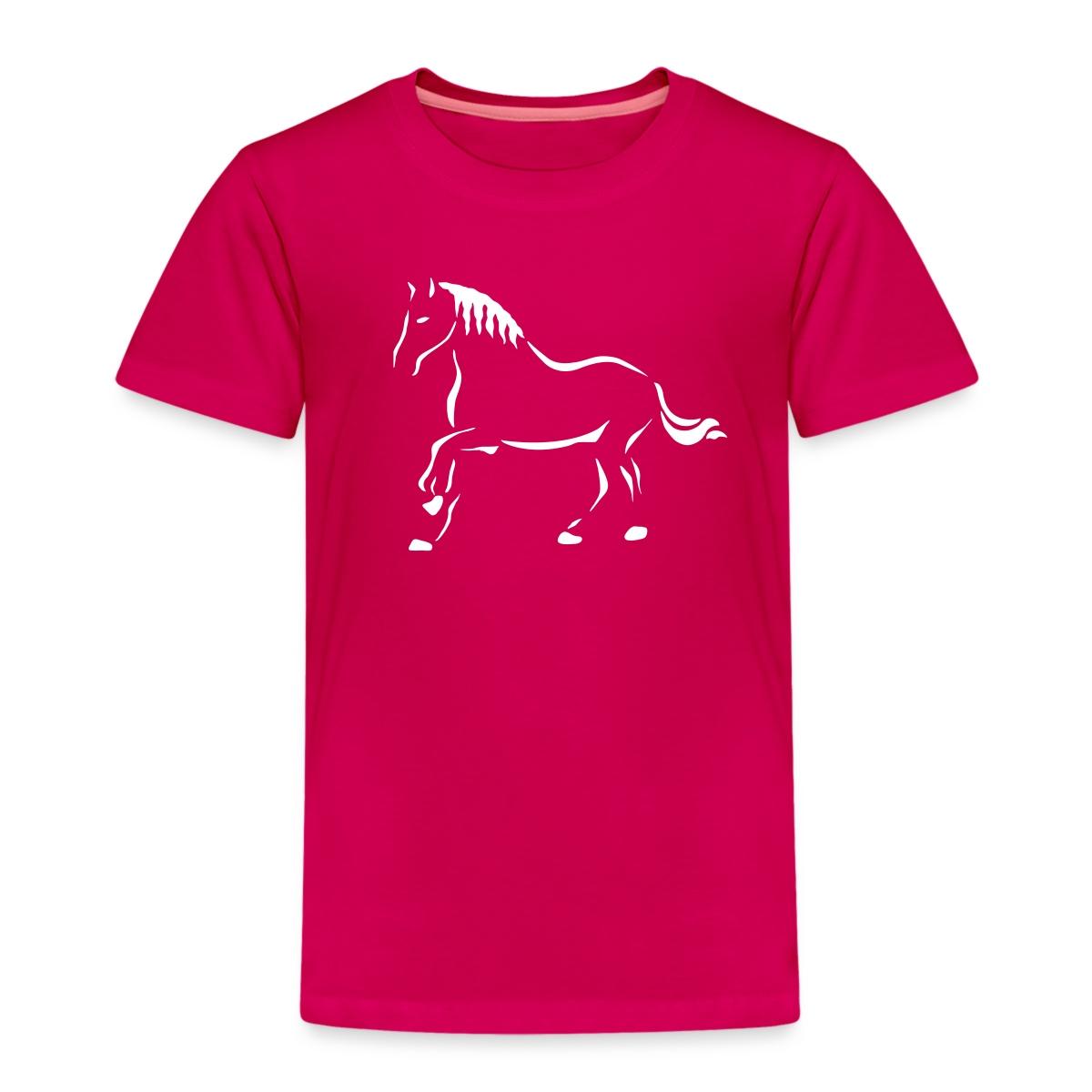 Pferd Skizze
