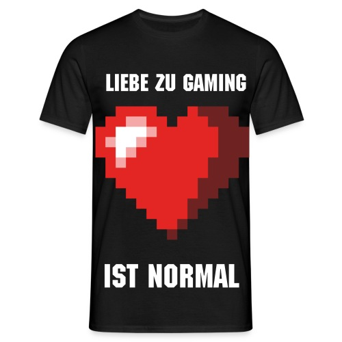 Gaming Love normal - Männer T-Shirt