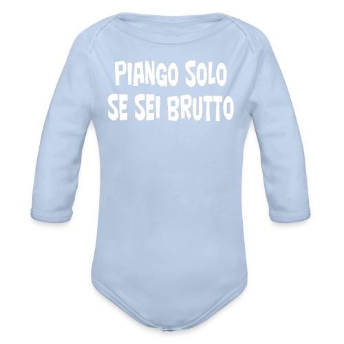 Piango - Body ecologico per neonato a manica lunga