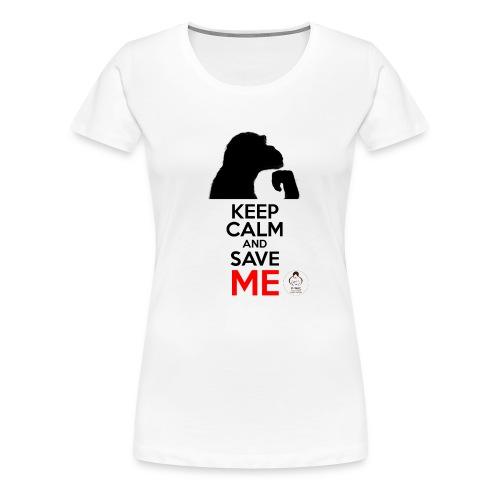 design_keep calm Tee shirts - T-shirt Premium Femme