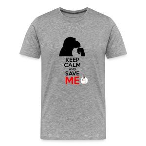 design_keep calm Tee shirts - T-shirt Premium Homme