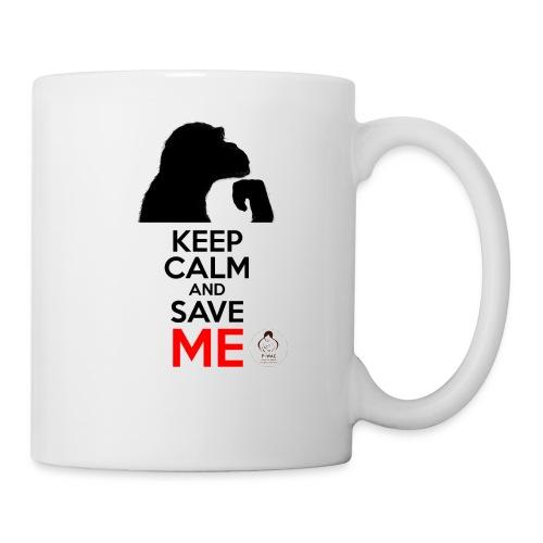 design_keep calm Bouteilles et Tasses - Mug blanc