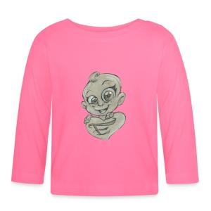 E-Baby - Maglietta a manica lunga per bambini