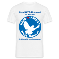 T-Shirts ~ Männer T-Shirt ~ No-NATOm-Krieg M