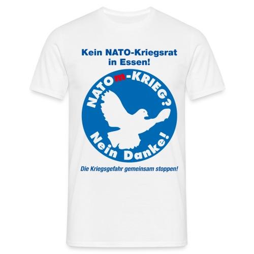 No-NATOm-Krieg M - Männer T-Shirt