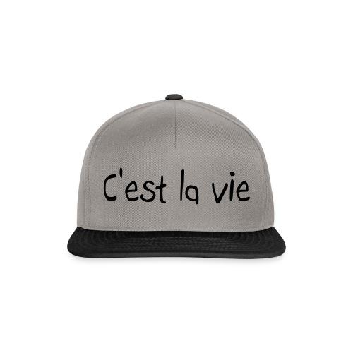 Snapback - C'est La Vie ! - Casquette snapback