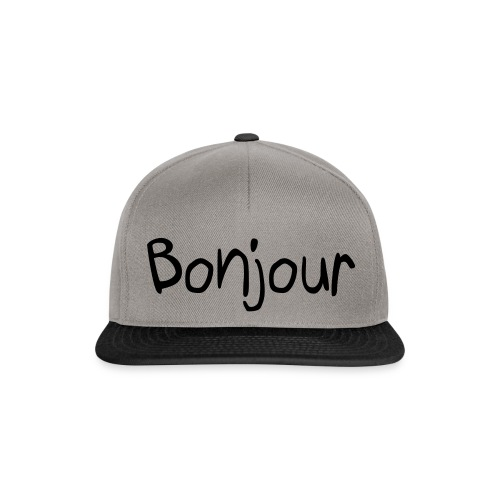 Snapback - Bonjour ! - Casquette snapback
